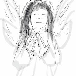 Ängel 2 mobilritat av Cicci Wik