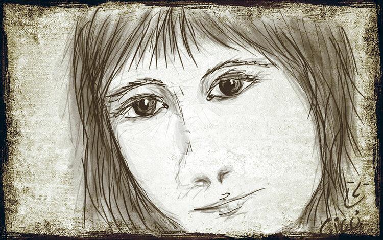 Ansikte 2 mobilritat av Cicci Wik