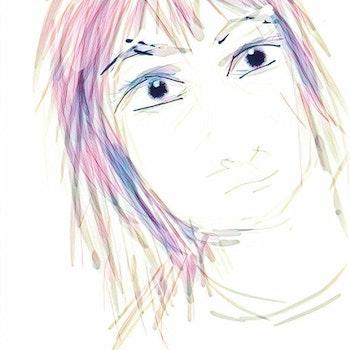 Ansikte 8 mobilritat av Cicci Wik