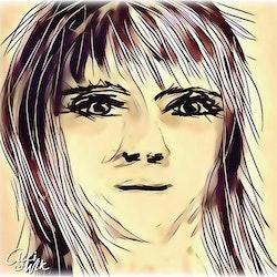 Ansikte 13 mobilritat av Cicci Wik