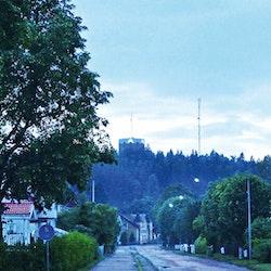 Skivsta i regn foto Cicci Wik