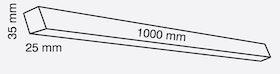 Rektangulärt tätningsband