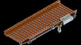 CW Lundberg Safety System till gångbrygga