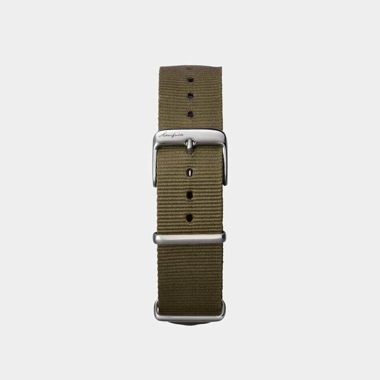 Åkerfalk | GREEN BLACK NATO STRAP