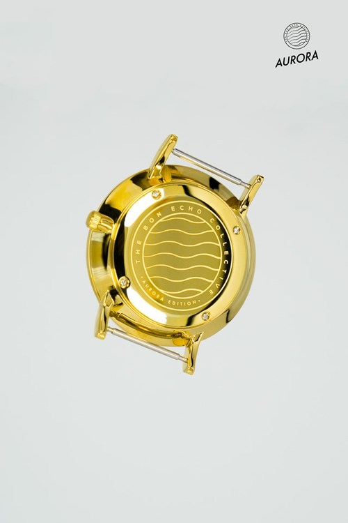 Aurora Gold Navy Blue