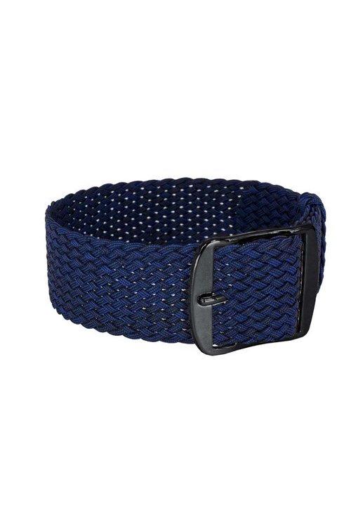 Bon Echo | Braided Perlon Strap Navy Blue Black