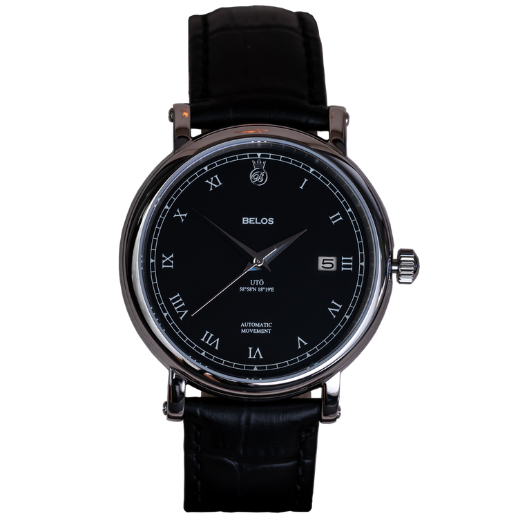 Utö Automatic Black Steel