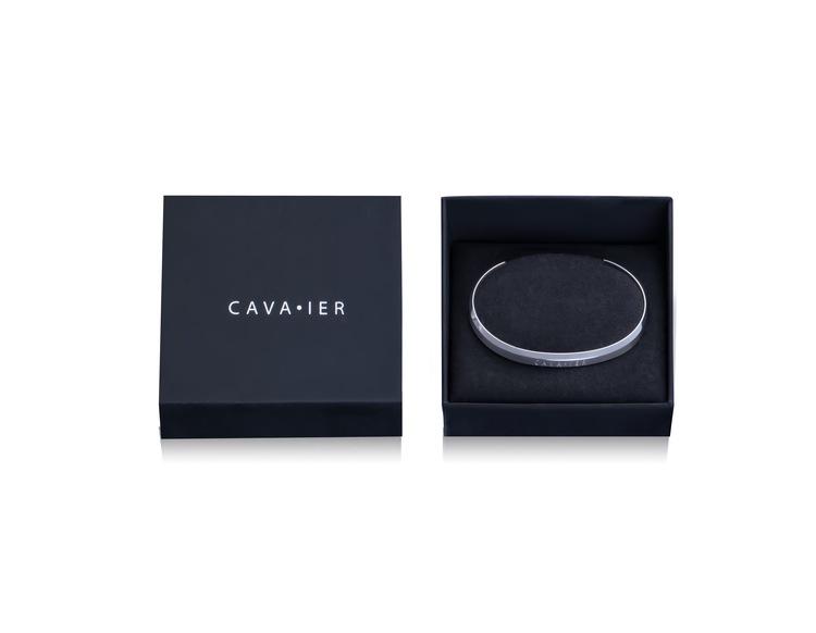 Cavaier Silver Cuff