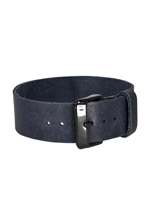 Bon Echo | Leather Strap Navy