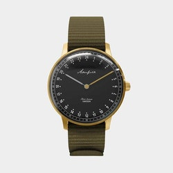 FIRST SEASON GOLD/BLACK/GREEN NATO