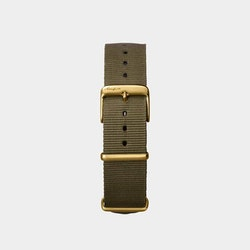 Åkerfalk | GREEN GOLD NATO STRAP