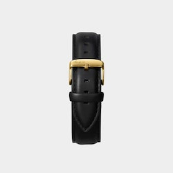 Åkerfalk | BLACK GOLD LEATHER STRAP