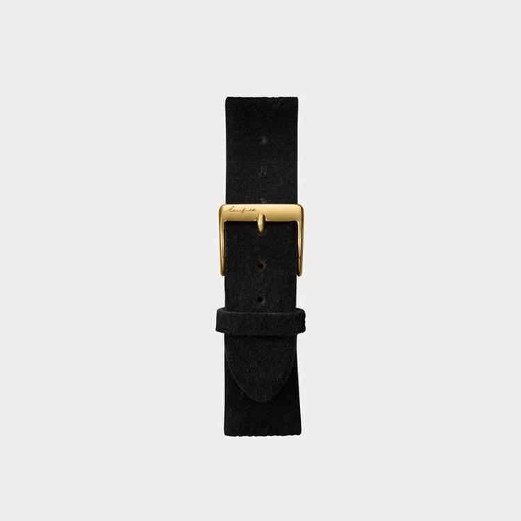 Åkerfalk | BLACK MOCHA GOLD STRAP