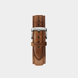 Åkerfalk | LIGHT BROWN SILVER LEATHER STRAP