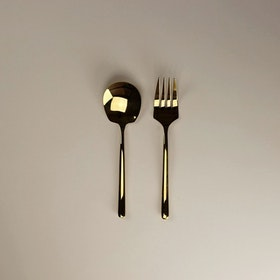 Baskari Aurum Serving Cutlery Set