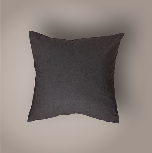 Karla Pillow Cover, Deep Brown