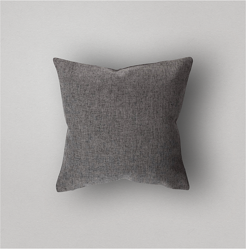 Storm Grey Pillow Cover