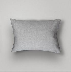 Basic Herringbone Pillow Cover, Grey