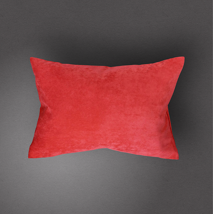 Unni Pillow Cover - Bright Coral