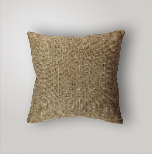 Outdoor Pillow Cover Weave, Burlap