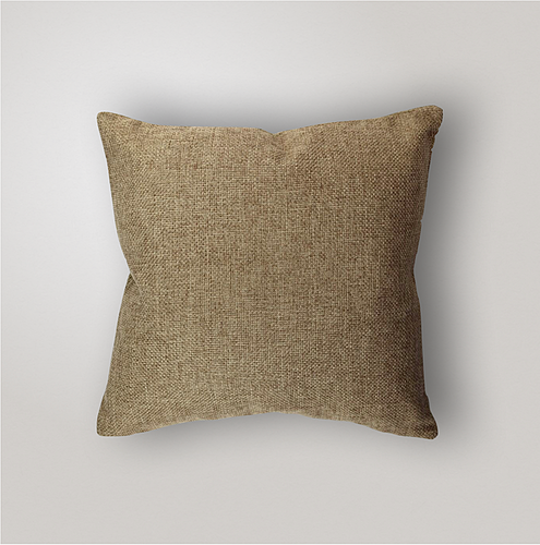 Outdoor Pillow Cover Weave, Burlap