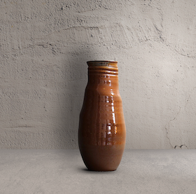 Sienna Spotted Irregular Vase Tall