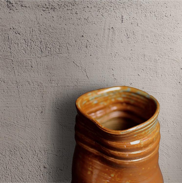 Sienna Spotted Irregular Vase Tall