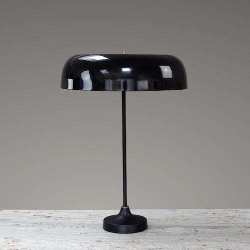Svampen Bordslampa, Svart