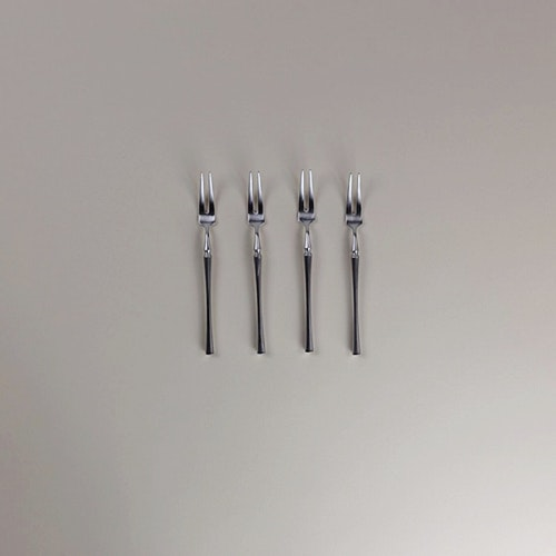 Ferramentum Fruit Serving Fork X4