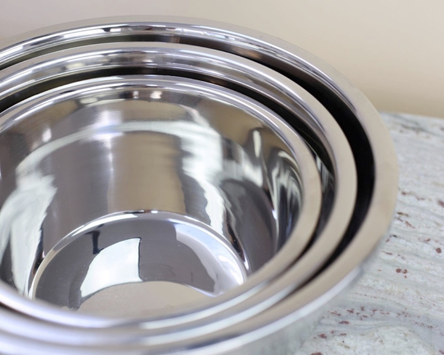 Stainless Steel Baking Bowl, S