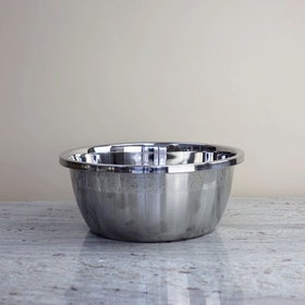Stainless Steel Baking Bowl, L