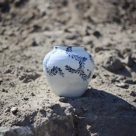 Parfait Bleu Vase
