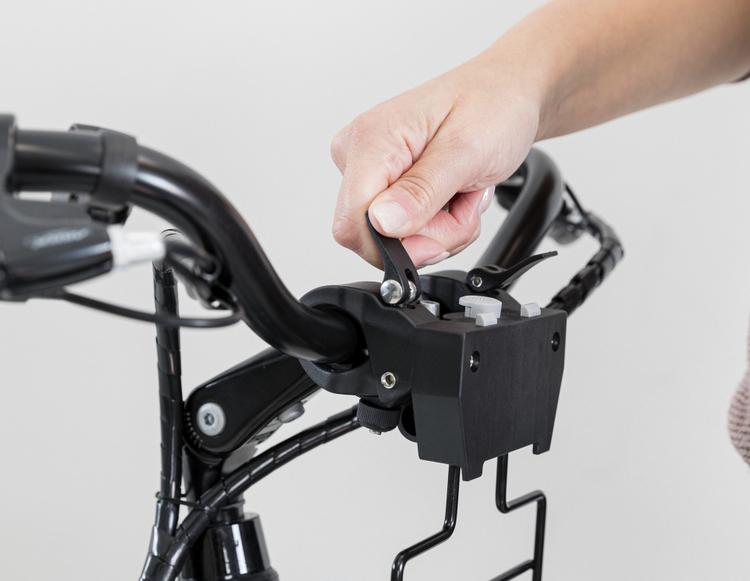 Extrafäste till Cykelkorg front med nät 225-3
