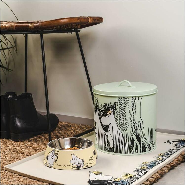 Moomin Pets food bowl, grey Large