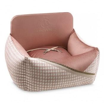 Bilstol till hund Glamour, Rosa