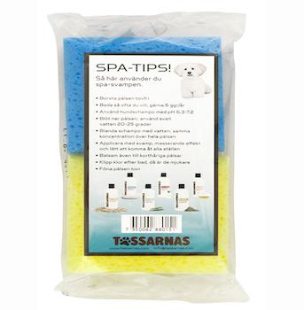 Tvättsvamp 2-pack bl. färger