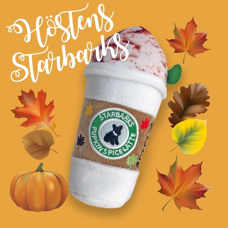 Starbarks Pupkin Spice Latte 18cm, Hundleksak