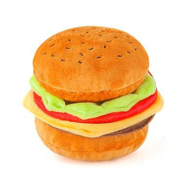 hundleksak-hamburgare