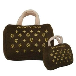 Chewy Vuiton Purse, Brown