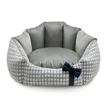 Glamour bed, Grå