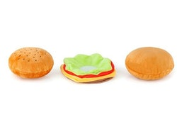 American Hamburger Hundleksak