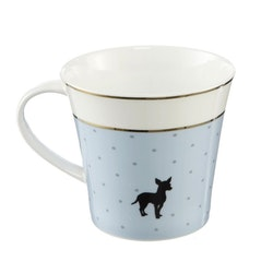Artist Mug - Life is better with a dog! - Blå