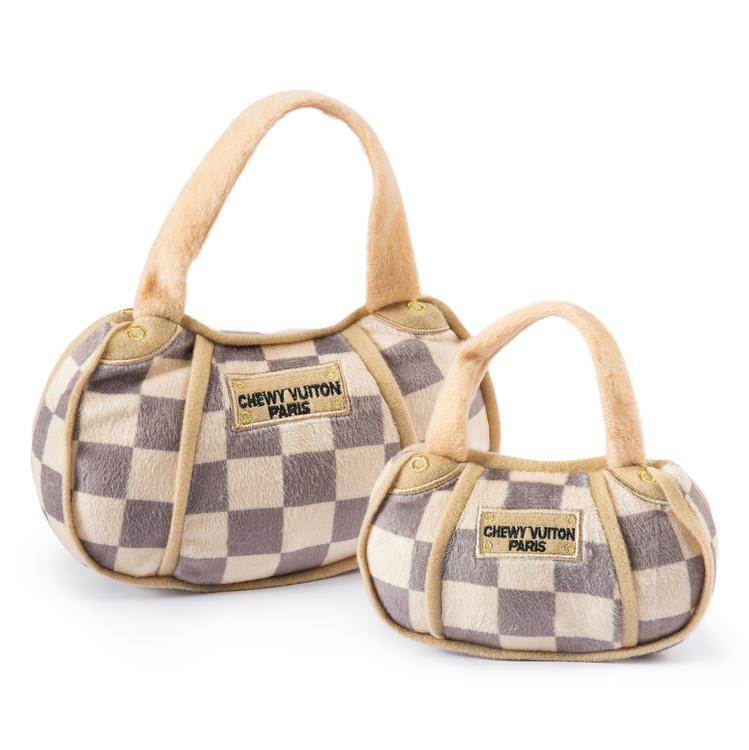 Haute Diggity Dog Chewy Vuiton Bag Checker