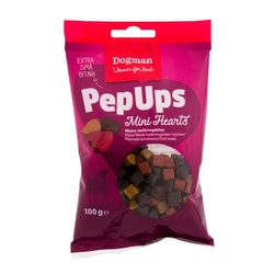 Pep Ups Mini Hearts 100g