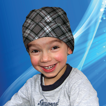 Aqua Coolkeeper - Kylande Bandana Kids Scottish grey