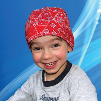 Aqua Coolkeeper - Kylande Bandana Kids Red Western