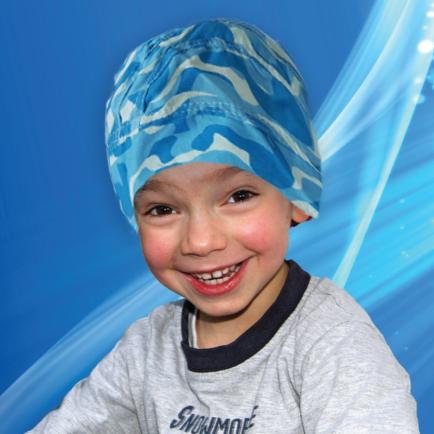 Aqua Coolkeeper - Kylande Bandana Kids Blue
