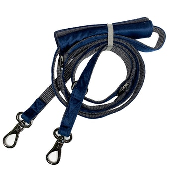 Glam leash Navy Blue