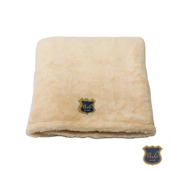 Fleecefilt Grädde, 100x70cm
