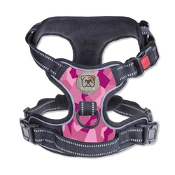 Boston Anti-Pull Harness 2.0 Pink